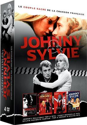 Johnny & Sylvie - Le couple sacré de la chanson française - Olympia 1962 / Cadet Rousselle / Sylvie raconte Vartan / Top A Sylvie & Johnny (4 DVDs)