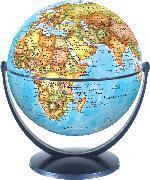 Political World Globe 15cm