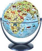 Animal World Globe 15cm