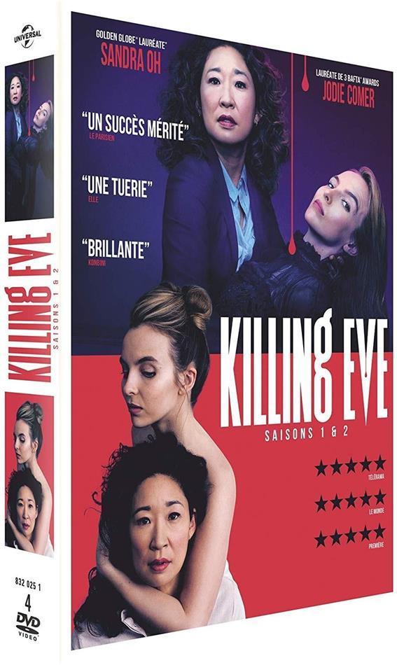 Killing Eve - Saison 1 & 2 (4 DVDs)