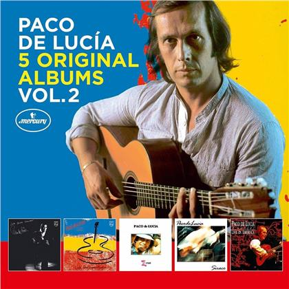 Paco De Lucia - 5 Original Albums Vol.2 (5 CDs)