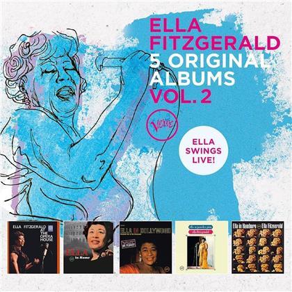 Ella Fitzgerald - 5 Original Albums Vol.2 (5 CDs)