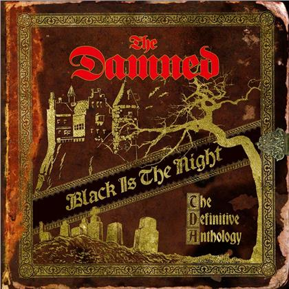 The Damned - Black Is the Night:The Definitive Anthology (Remastered, 4 LPs)