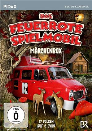 Das feuerrote Spielmobil - Märchenbox (Pidax Serien-Klassiker, 3 DVDs)