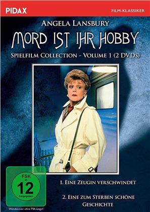 Mord ist ihr Hobby - Spielfilm Collection - Vol. 1: Eine Zeugin verschwindet / Eine zum Sterben schöne Geschichte (Pidax Film-Klassiker, 2 DVDs)