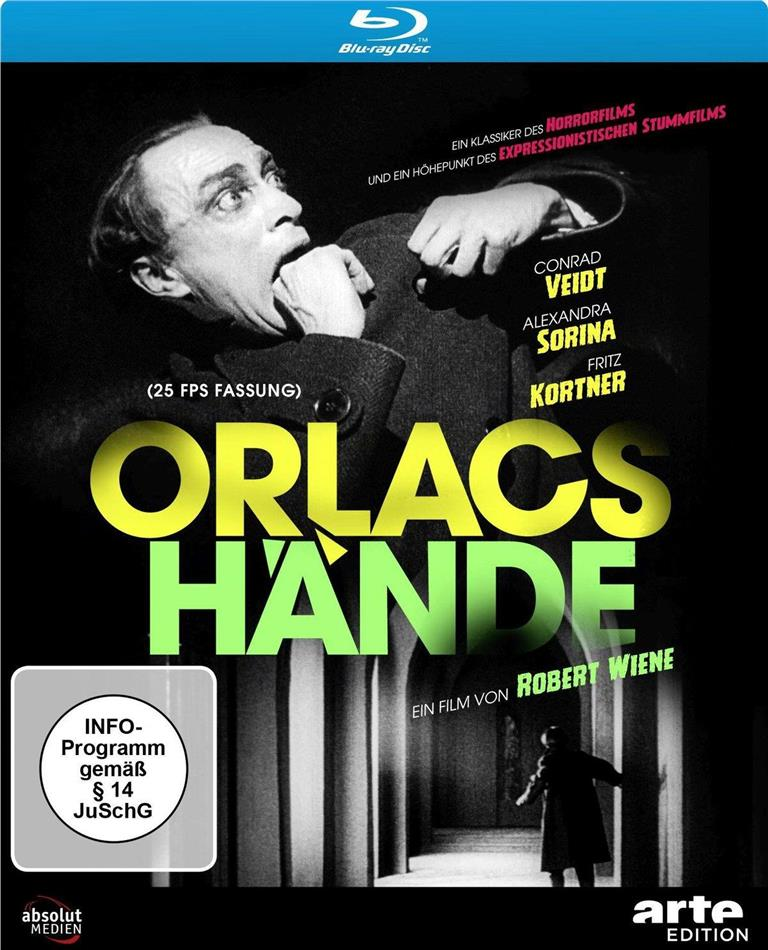 Orlacs Hände (1924) (Arte Edition, s/w, Neuauflage)