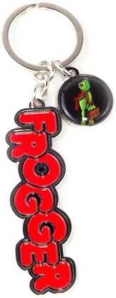 Konami - Frogger Metal Keychain