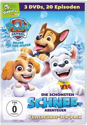 Paw Patrol - Die schönsten Schnee-Abenteuer - Fellfreunde-3er-Pack (3 DVDs)