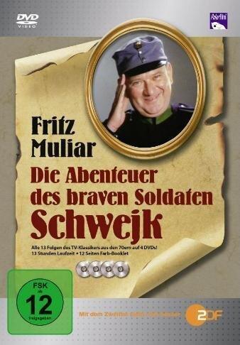 Die Abenteuer des braven Soldaten Schwejk - Die komplette Serie (4 DVDs)