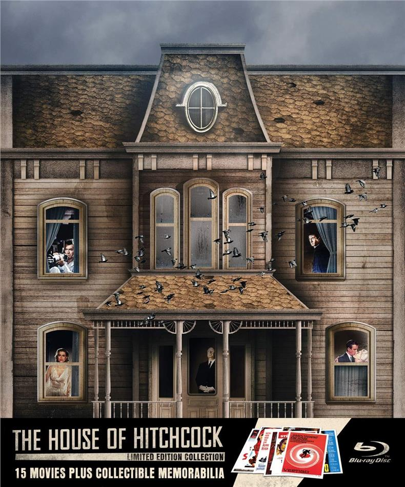 The House of Hitchcock (Limited Edition, 18 Blu-rays)
