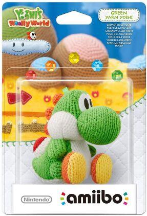 amiibo Yoshi's Woolly World Character - Yarn Yoshi green