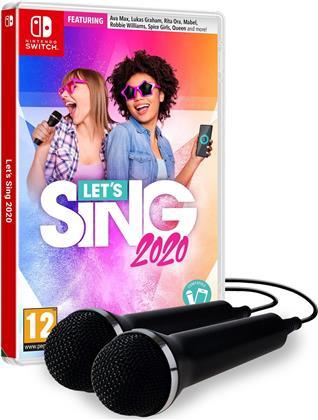 Let's Sing 2020 + 2 Mics