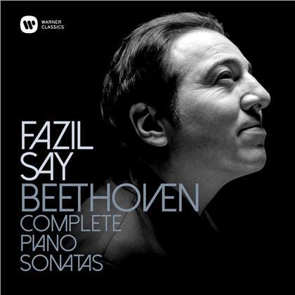Ludwig van Beethoven (1770-1827) & Fazil Say (*1970) - Sämtliche Klaviersonaten 1-32 (9 CDs)