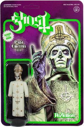 Ghost - Papa Emeritus Iii (Glow In The Dark Reaction Figure)