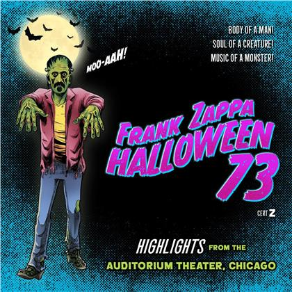Frank Zappa - Halloween 73 - incl. Zombie Gloves / Mask (4 CDs)