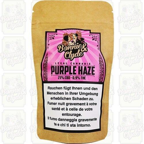 Bonnie & Clyde Purple Haze (4g) - (23% CBD 0.9% THC)