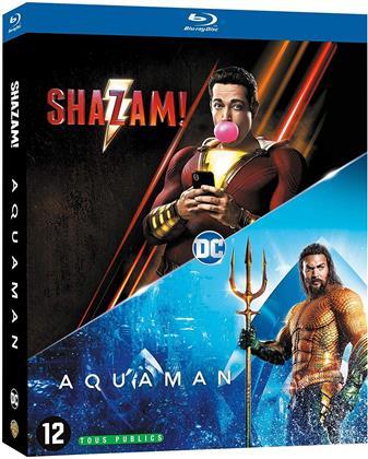 Shazam! (2019) / Aquaman (2018) (2 Blu-rays)