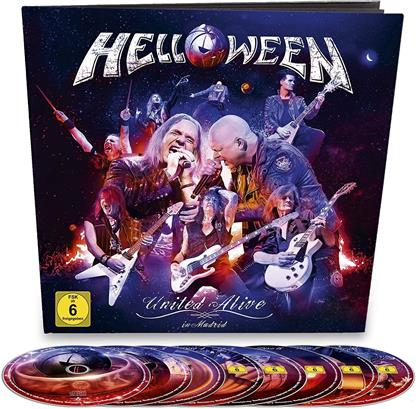 Helloween - United Alive (Earbook, 2 Blu-rays + 3 DVDs + 3 CDs)