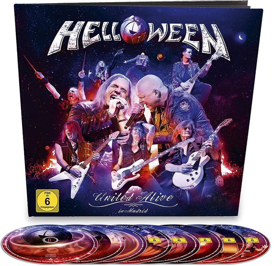 Helloween - United Alive (Earbook, 2 Blu-rays + 3 DVDs + 3 CDs)