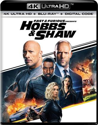 Fast & Furious: Hobbs & Shaw (2019) (4K Ultra HD + Blu-ray)