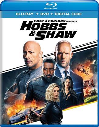 Fast & Furious: Hobbs & Shaw (2019) (Blu-ray + DVD)