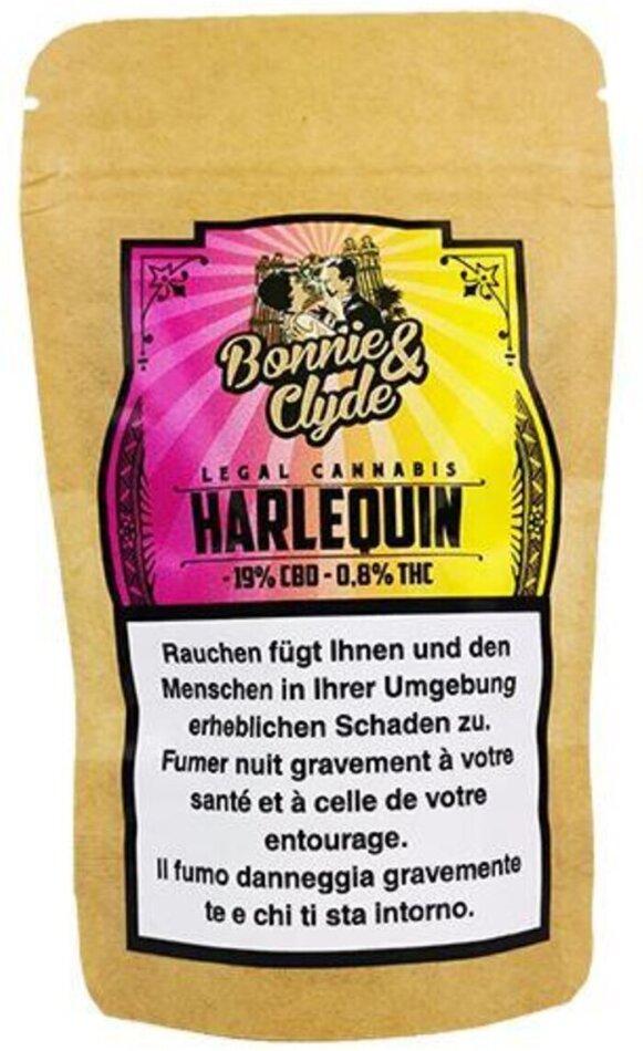 Bonnie & Clyde Harlequin (1.4g) - (19% CBD 0.8% THC)