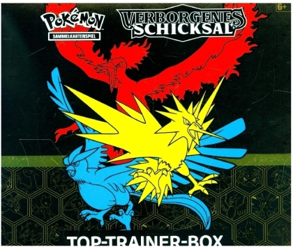 Pokemon: Sonne und Mond 11.5: Verborgenes Schicksal - Top-Trainer Box