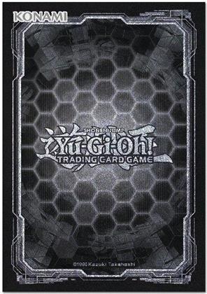 Yu-Gi-Oh! Card Sleeves Dark Hex (50) (Sammelkartenspiel)