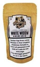 Bonnie & Clyde White Widow (10g) - (18% CBD 0.8% THC)
