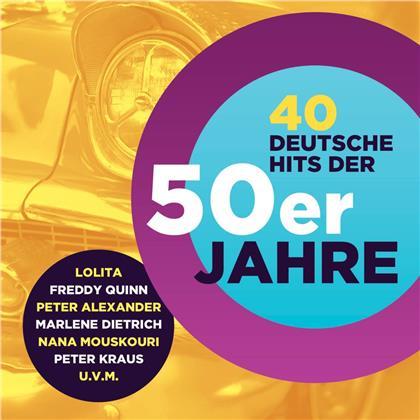 40 Deutsche Hits Der 50er (2 CDs)