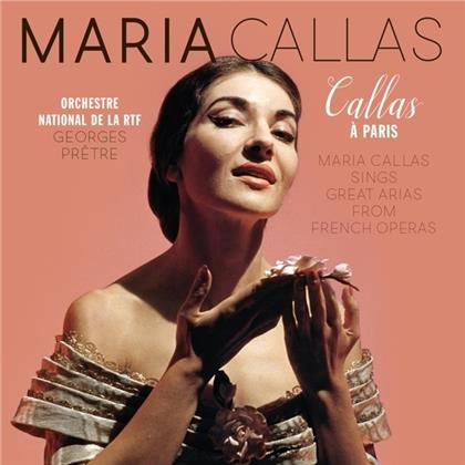 Maria Callas - Callas A Paris (LP)