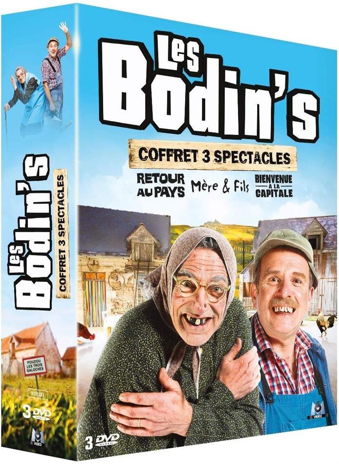 Les Bodin's - Coffret 3 Spectacles (3 DVDs)