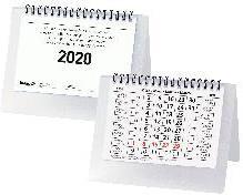 Biella Pultkalender 2020 Desktop Basic - Wire-O