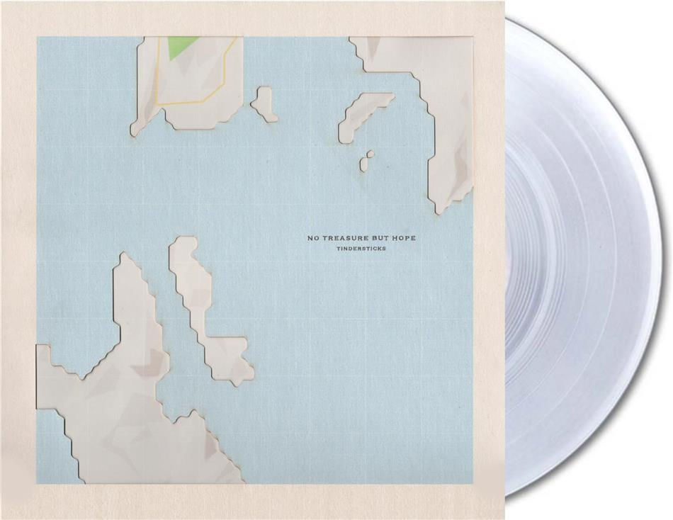 The Tindersticks - No Treasure But Hope (Limited, Papersleeve Limited Edition, Crystal Clear Vinyl, LP + Digital Copy)