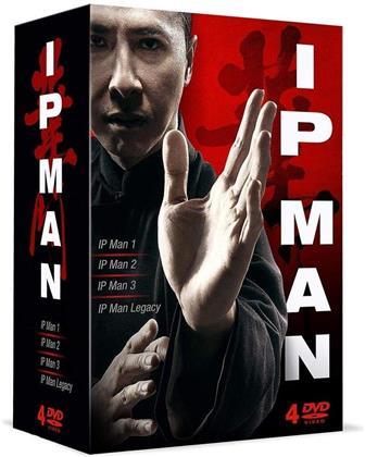 IP Man 1 / IP Man 2 / IP Man 3 / IP Man Legacy (4 DVDs)