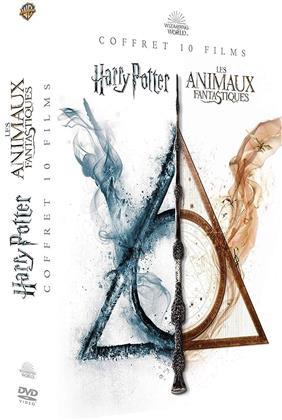 Harry Potter / Les animaux fantastiques - Wizard World - Coffret 10 Films (10 DVD)