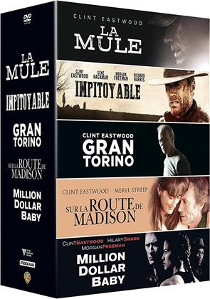 La Mule / Impitoyable / Grand Torino / Sur la route de Madison / Million Dollar Baby (5 DVDs)