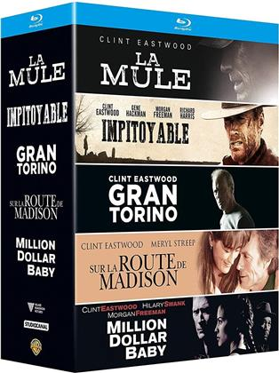 La Mule / Impitoyable / Grand Torino / Sur la route de Madison / Million Dollar Baby (5 Blu-rays)