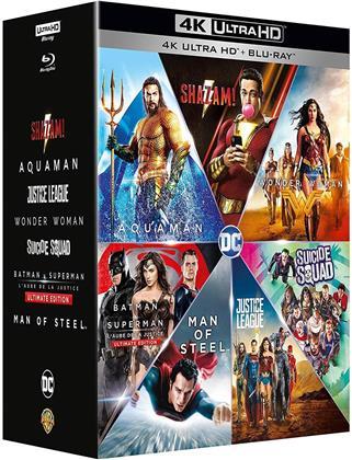 Shazam! / Aquaman / Justice League / Wonder Woman / Suicide Squad / Batman v Superman / Man of Steel (7 4K Ultra HDs + 7 Blu-rays)