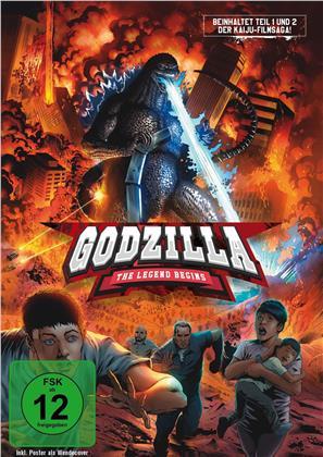 Godzilla - The Legend begins (2 DVDs)