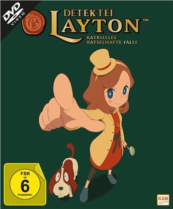 Detektei Layton - Katrielles rätselhafte Fälle - Vol. 1 (+ Sammelschuber, 2 DVDs)