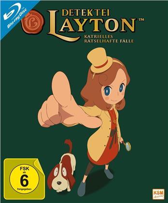 Detektei Layton - Katrielles rätselhafte Fälle - Vol. 1 (+ Sammelschuber, 2 Blu-rays)