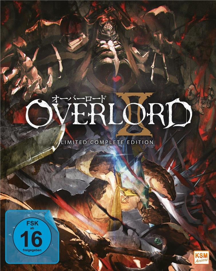 Overlord II - Staffel 2 (Limited Complete Edition, 3 Blu-rays)