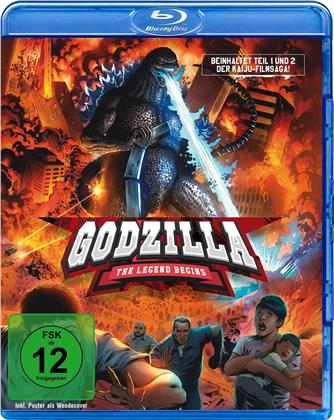 Godzilla - The Legend begins (2 Blu-rays)