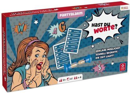 Partyspiel - Hast du Worte? (Spiel)