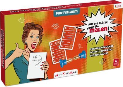 Partyspiel - auf die Plätze, Fertig, Malen