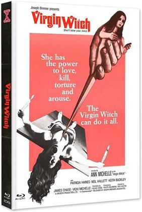 Virgin Witch (1972) (Cover A, Limited Edition, Mediabook, Uncut, Blu-ray + DVD)