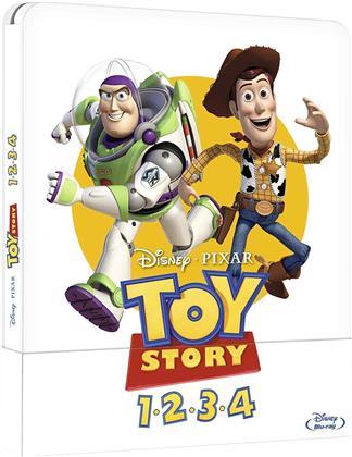 Toy Story 1-4 (Steelbook, 4 Blu-rays)