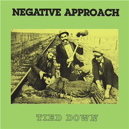 Negative Approach - Tied Down (2019 Reissue, Green Vinyl, LP)