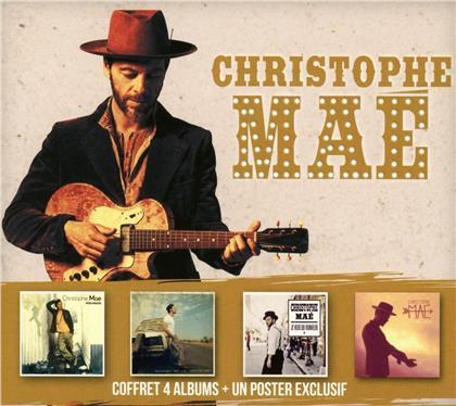 Christophe Mae - Coffret 4CD (4 CDs)